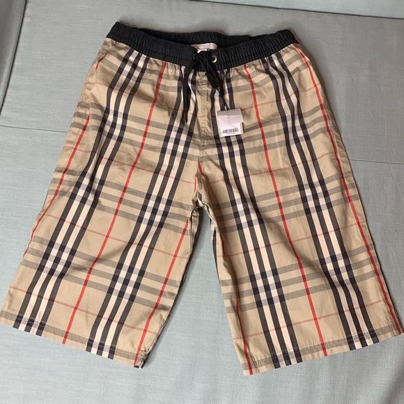 d88e03eea0e76 Burberry Swim | Boys Size 12y Drawcord Shorts | Poshmark